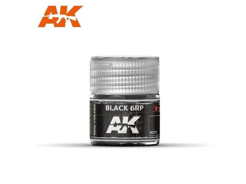 AK Interactive AK Interactive Black 6RP 10ml