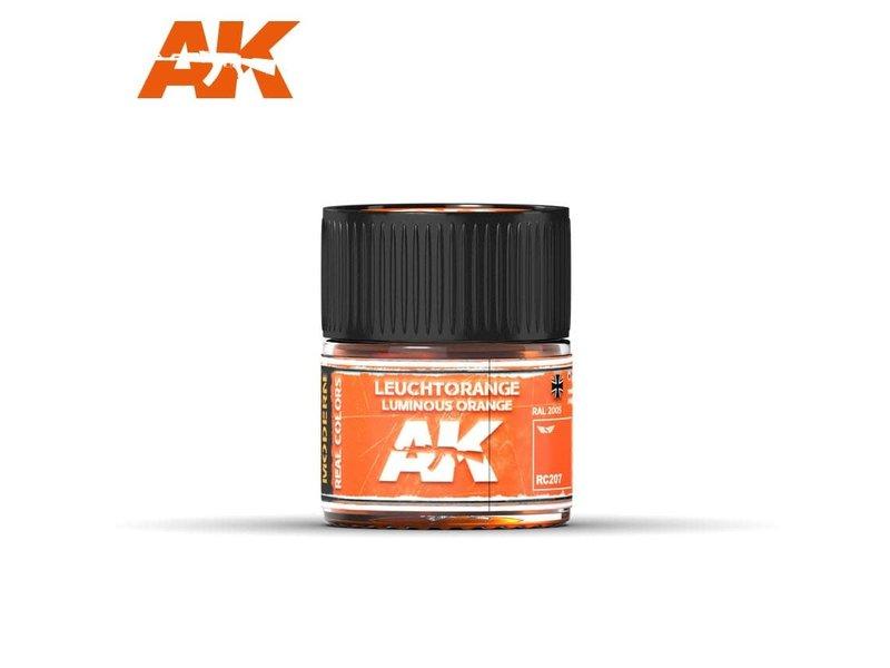 AK Interactive AK Interactive Leuchtorange-Luminous Orange RAL 2005 10ml