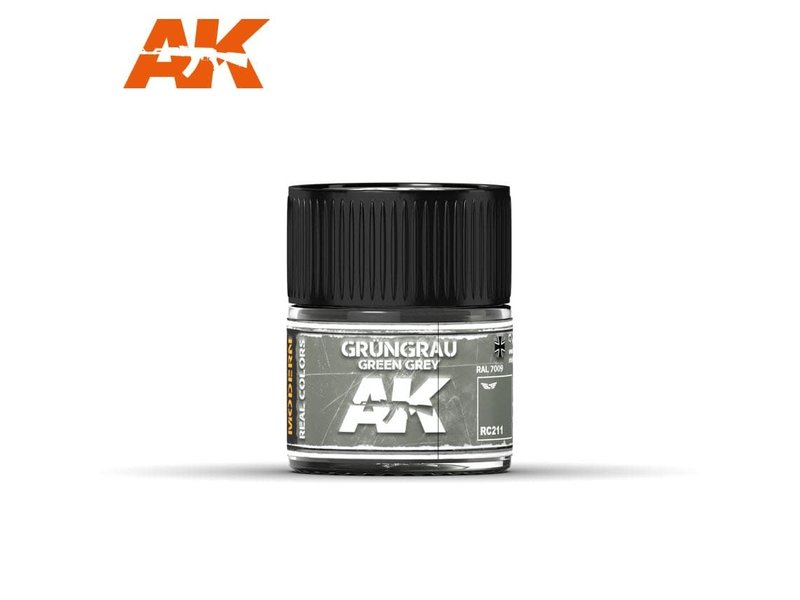 AK Interactive AK Interactive Grüngrau-Green Grey RAL 7009 (MODERN) 10ml