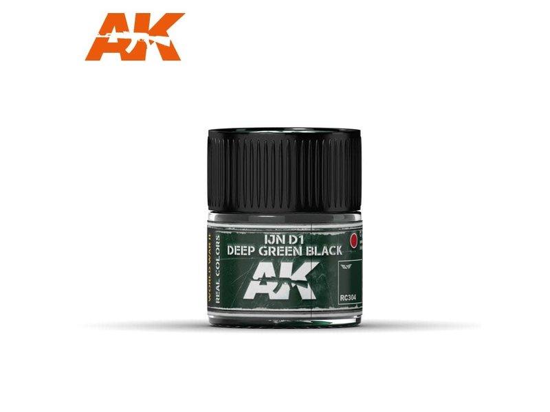 AK Interactive AK Interactive IJN D1 Deep Green Black 10ml