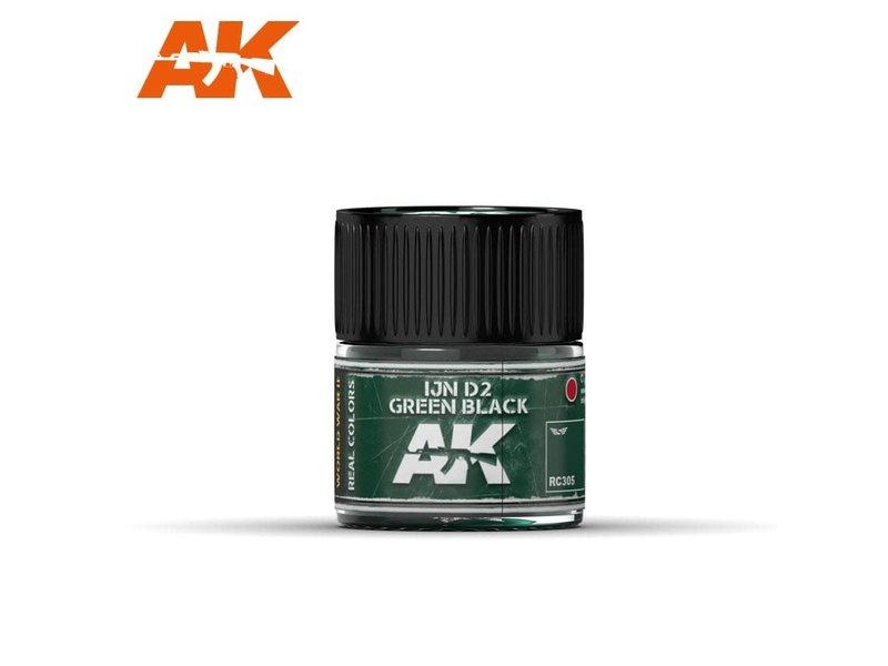 AK Interactive AK Interactive IJN D2 Green Black 10ml
