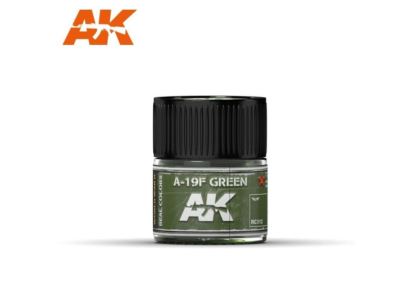AK Interactive AK Interactive A-19F Grass Green 10ml