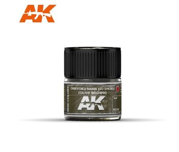 AK Interactive Ohryuko Nana Go Shoku (Olive Brown) 10ml