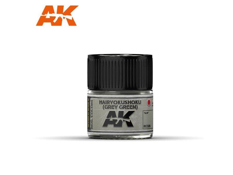 AK Interactive AK Interactive Hairyokushoku (Grey-Green) 10ml