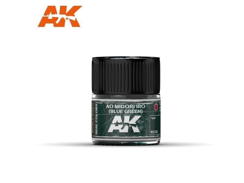 AK Interactive AK Interactive Ao Midori Iro (Blue-Green) 10ml