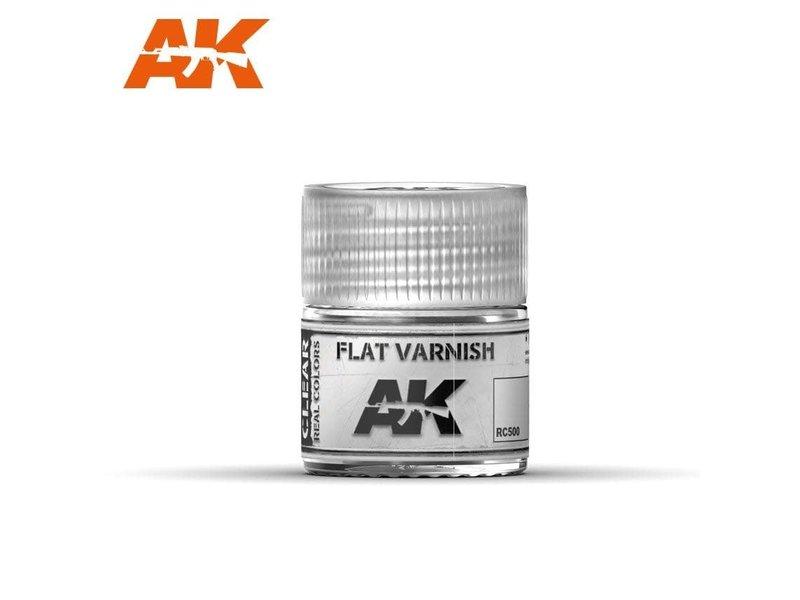 AK Interactive AK Interactive Flat Varnish 10ml