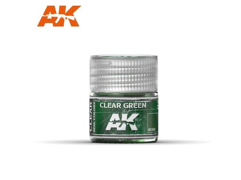 AK Interactive AK Interactive Clear Green 10ml