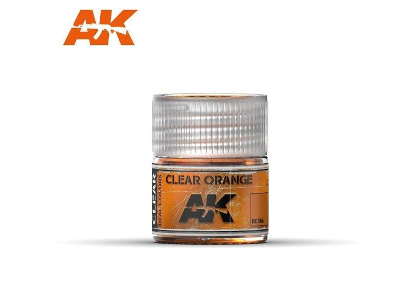 AK Interactive AK Interactive Clear Orange 10ml