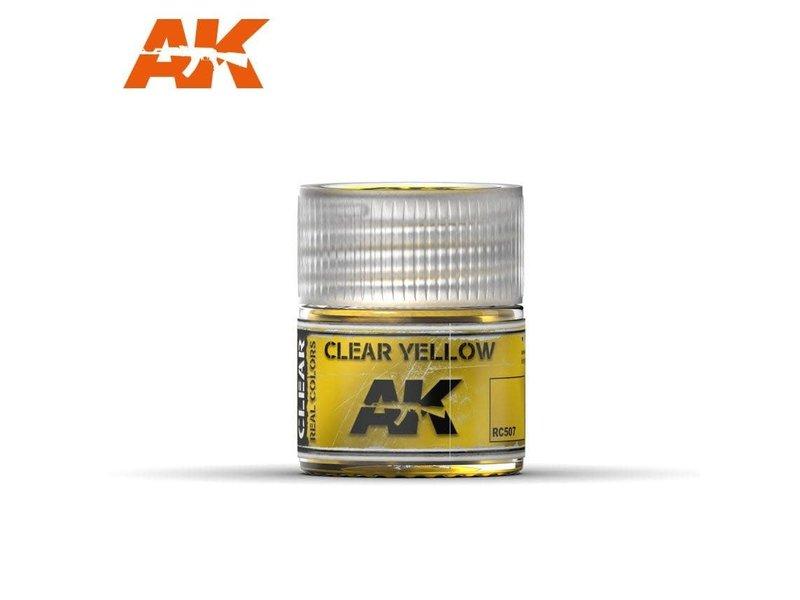 AK Interactive AK Interactive Clear Yellow 10ml