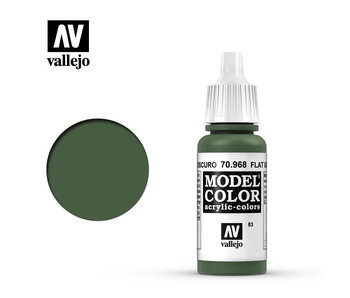 Model Color Flat Green (70.968)