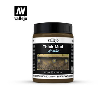 Thick Mud Textures European Thick Mud (26.807) (200ml)