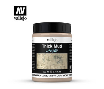 Thick Mud Textures Light Brown Thick Mud (26.810) (200ml)