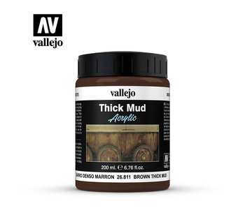 Thick Mud Textures Brown Thick Mud (26.811) (200ml)
