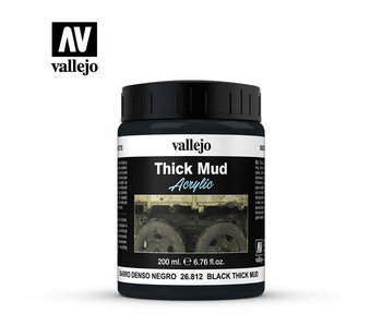 Thick Mud Textures Black Thick Mud (26.812) (200ml)