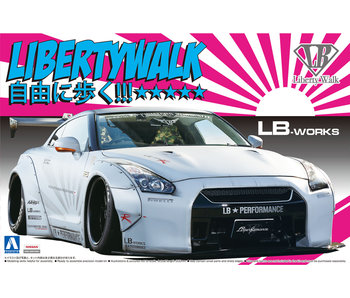 Aoshima 1/24 LB WORKS R35 GT-R Version 2