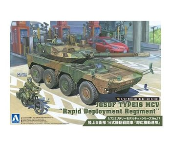 Aoshima 1/72 JGSDF TYPE16 MCV Rapid Deployment Regiment