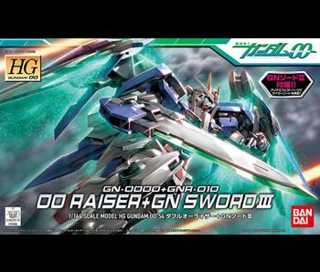 Bandai #54 00 Raiser + GN Sword III Gundam 00 - Bandai HG 00