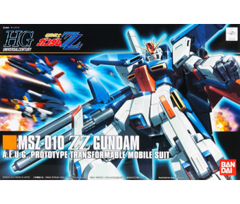 Bandai #111 ZZ Gundam ZZ Gundam - Bandai HGUC