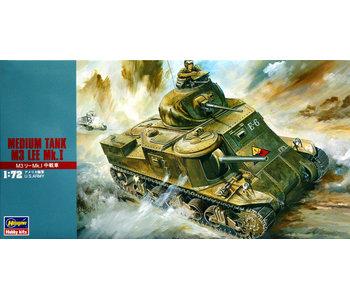 Hasegawa Medium Tank M3 Lee Mk.I