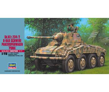Hasegawa Sd.Kfz.234/2 8-Rad Schwere Panzerspahwagen Puma