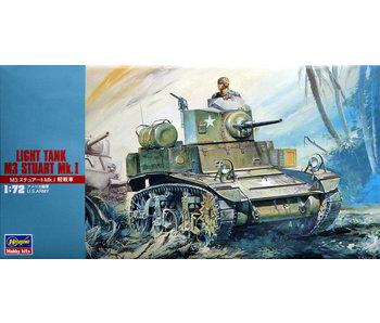 Hasegawa Light Tank M3 Stuart Mk.I