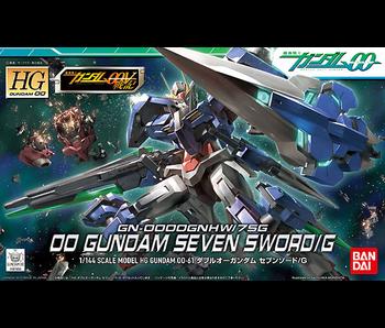 Bandai #61 00 Gundam Seven Sword/G HG Gundam 00 - Bandai HG 00