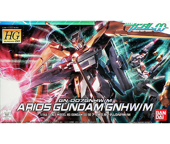 Bandai #50 Arios Gundam GNHW/R Gundam 00 - Bandai HG
