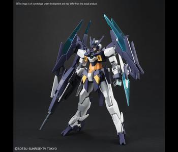Bandai #01 Gundam AGEII Magnum Gundam Build Divers - Bandai HGBD 1/144
