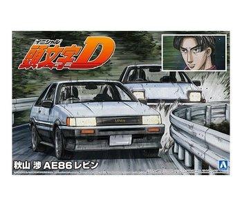 Aoshima 1/24 AKIYAMA WATARU AE86 LEVIN