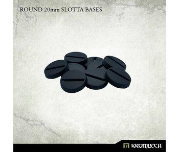 Round 20mm Slotta Bases