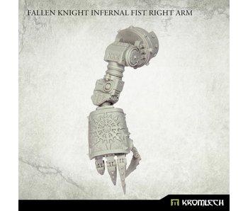 Fallen Knight Infernal Fist Right Arm