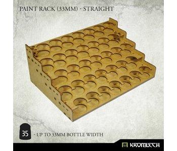 Paint Rack (25.6mm) - Straight (HDF)