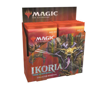 MTG Ikoria Lair Of Behemoths Collector Booster Box