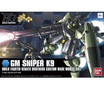 Bandai #10 GM Sniper K9 Gundam Build Fighters - Bandai HGBF