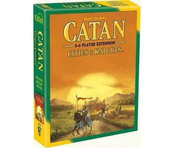 Catan Expansion - Cities & Knights 5-6 player Extension (English)