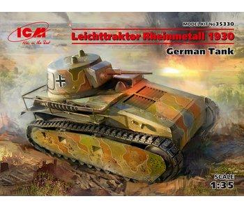 ICM Leichttraktor Rheinmetall 1930, German Tank (100% new molds)