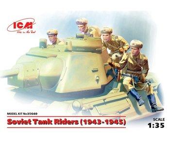 ICM Soviet Tank Riders (1943-1945) (4 figures)