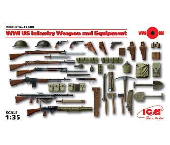 ICM WWI US Infantry Weapon and Equipment