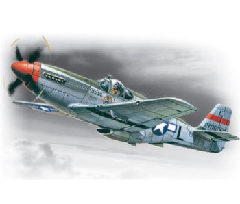 ICM Mustang P-51C, WWII American Fighter