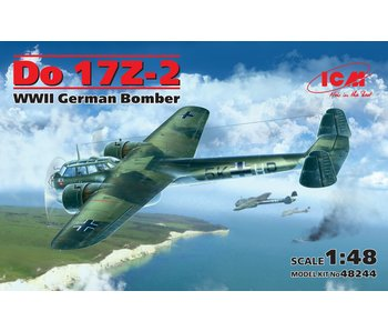 ICM Do 17Z-2, WWII German Bomber