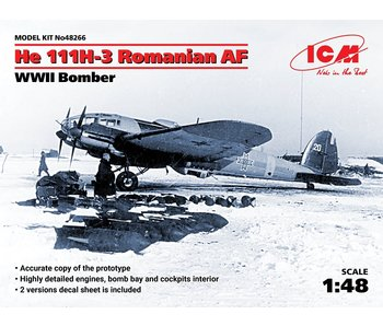 ICM He 111H-3 Romanian AF, WWII Bomber