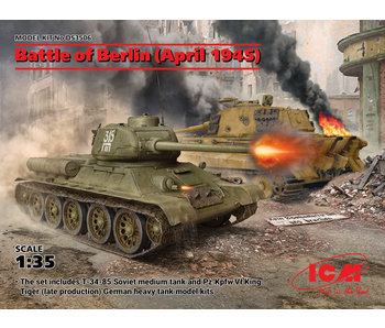 ICM Battle of Berlin (April 1945) (T- 34-85, King Tiger)