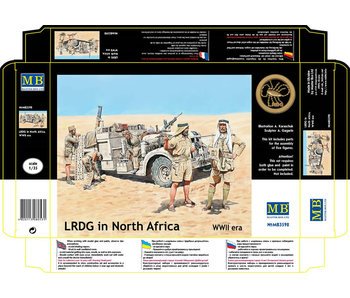 Master Box LRDG in North Africa, WWII era