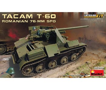 MiniArt Romanian 76-mm SPG Tacam T-60 Interior Kit (1/35)