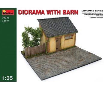 MiniArt Diorama w/ Barn (1/35)