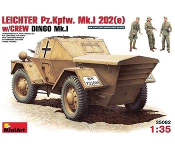 MiniArt Leichter Pz.Kpfw. Mk.1 202 (e). With Crew Dingo Mk.1 (1/35)