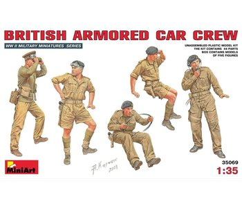 MiniArt British Armoured Car Crew (1/35)