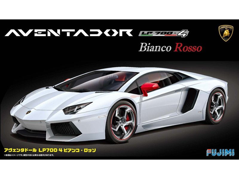 Fujimi Fujimi  Lamborghini Aventador Biancorosso