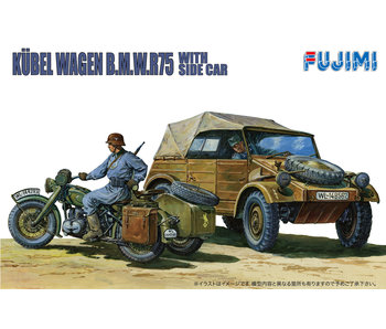 Fujimi German Kubelwagen & Sidecar