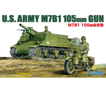 Fujimi US M7B1 105mm AELF PropeLED Gun